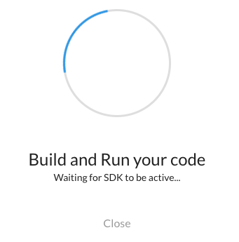 Build and Run Dialog to initialize Spring Feature Toggle