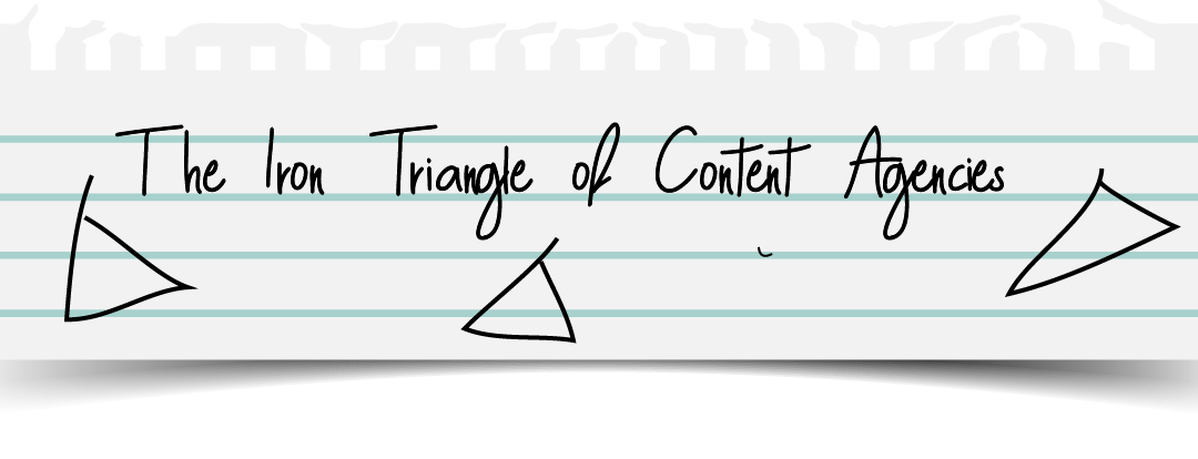 The Iron Triangle of Content Agencies