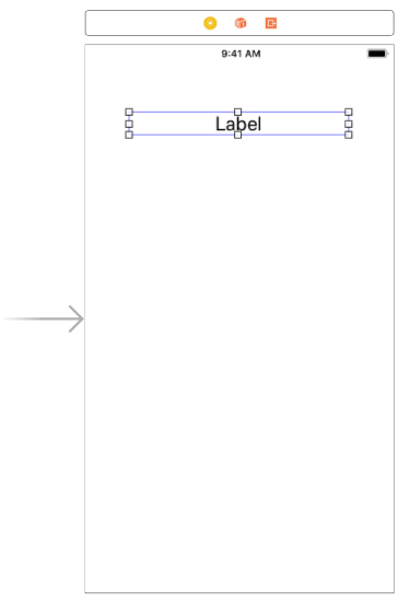 Add label to Swift feature toggle application