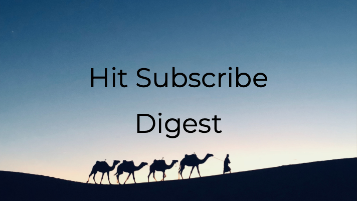 Hit Subscribe Digest: Something to Look Forward to on Wednesdays