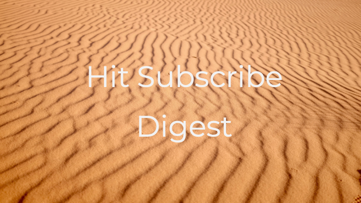 Hit Subscribe Digest: Saying Goodbye to Summer
