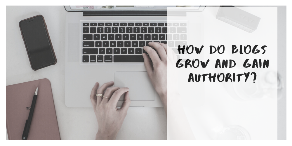 How Do Blogs Grow and Gain Authority?
