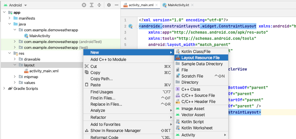 as-navigate-new-layout-file